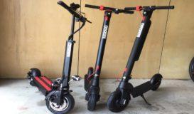 E scooter family