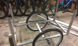 Venture E Bike trailer project