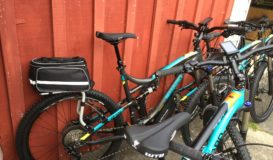 HARO Shift with Thule Tour rack