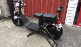 Venture Road legal Scooter with surf board holder