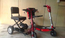 CTS350 & FSC350 folding travel scooters