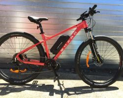 2021 HARO Double Peak Trail 29 med 500watt 17.5ahr