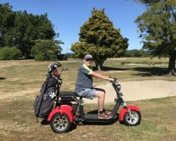 Venture Golf Trike in action
