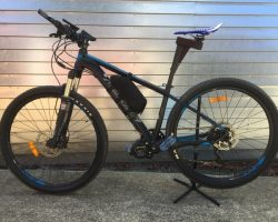 Merida Big Seven Lite 500watt 17.5ahr custom battery & bag