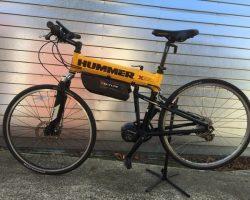 Hummer folding bike 750watt 14ahr
